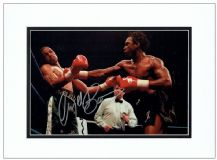 Nigel Benn Autograph Signed Photo - The Dark Destroyer